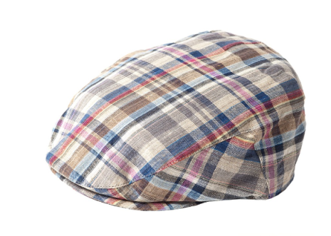 Summer Check Cap, blå