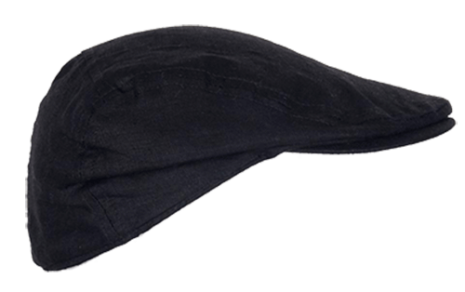 BB Linen Summer Cap Black